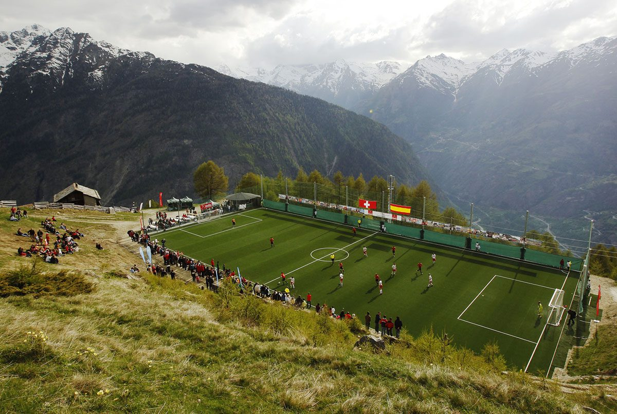 Photos: Soccer Fields Around the World